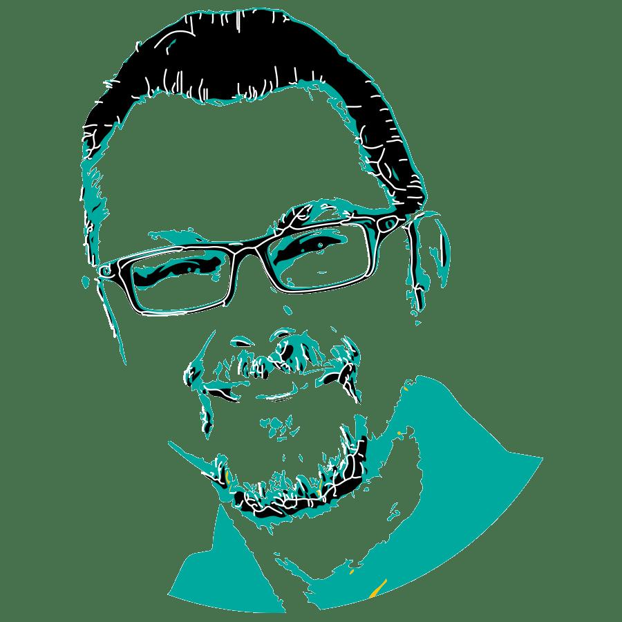 Selbstportrait Helmut Wernbacher